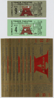 "Lot of (410 Vintage 1960 ""The Alamo"" Theater Tickets at PristineAuction.com"