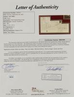 Van Halen 24.5x36.5 Custom Framed Book Page Display Signed by (5) with Eddie Van Halen, Alex Van Halen, Michael Anthony, Sammy Hagar, & David Lee Roth (JSA LOA) at PristineAuction.com