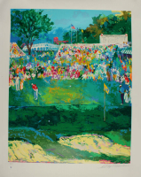 "LeRoy Neiman Signed LE 34x42 ""102nd U.S. Open"" Textured Print On Lithograph (PSA COA) at PristineAuction.com"