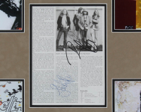 John Paul Jones, Jimmy Page, & Robert Plant Signed Led Zepplin 28.5x32.5 Custom Framed Book Page Display (JSA LOA) at PristineAuction.com