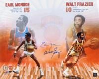 Earl Monroe & Walt Frazier Signed Knicks 16x20 Photo (JSA COA) at PristineAuction.com