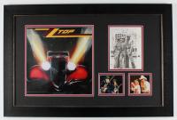 Billy Gibbons, Dusty Hill, & Frank Beard Signed ZZ Top 19.5x29.5 Custom Framed Photo Display (JSA LOA) at PristineAuction.com