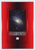 """""""Star Trek"""" Cluster of Dilithium Crystals TV Used Prop on 5x7 Photo (The Zone COA) at PristineAuction.com"""