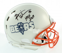 """Brian Urlacher Signed Full-Size Authentic On-Field Helmet Inscribed """"HOF 2018"""" (Beckett COA) at PristineAuction.com"""