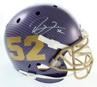 Ray Lewis Signed Full-Size Authentic On-Field Helmet (Beckett COA) at PristineAuction.com