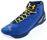 Stephen Curry Signed Curry 3 Under Armor Basketball Shoe (Fanatics Hologram) at PristineAuction.com