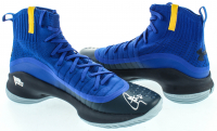 Lot of (2) Stephen Curry Signed Curry 4 Under Armor Basketball Shoes (Fanatics Hologram) at PristineAuction.com