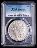1898 Morgan Silver Dollar (PCGS AU Details) at PristineAuction.com