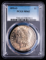 1899-O Morgan Silver Dollar (PCGS MS62) at PristineAuction.com