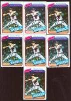 Lot of (7) Nolan Ryan 1980 Topps #580 Baseball Cards at PristineAuction.com