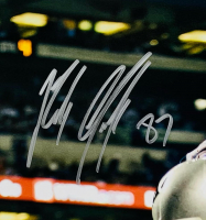 Tom Brady & Rob Gronkowski Signed Patriots 16x20 Photo (Fanatics Hologram) at PristineAuction.com