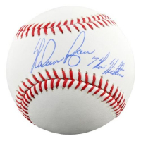 "Nolan Ryan Signed OML Baseball Inscribed ""7 No Hitters"" (Fanatics Hologram) at PristineAuction.com"