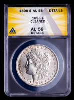 1896 Morgan Silver Dollar (ANACS AU58 Details) at PristineAuction.com
