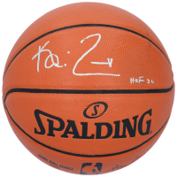 "Kevin Garnett Signed NBA Game Ball Series Basketball Inscribed ""HOF 20"" (Fanatics Hologram) at PristineAuction.com"