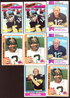 Lot of (8) Terry Bradshaw Football Cards With (2) 1977 Topps #245, (2) 1973 Topps #15, (3) 1978 Topps #65 & (1) 1974 Topps #470 at PristineAuction.com