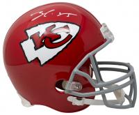 Frank Clark Signed Chiefs Full-Size Helmet (JSA COA) at PristineAuction.com