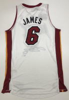 LeBron James Signed Heat 2012 NBA Champion Patch Jersey (UDA COA) at PristineAuction.com
