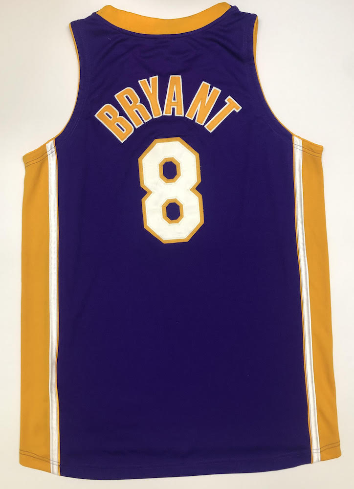 Kobe Bryant Signed Lakers 3x Champs Patch LE Jersey (UDA COA ...