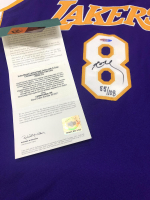 Kobe Bryant Signed Lakers 3x Champs Patch LE Jersey (UDA COA) at PristineAuction.com