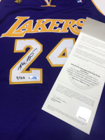 Kobe Bryant Signed Lakers 2009 NBA Finals Patch LE Jersey (UDA COA) at PristineAuction.com