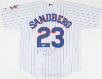 "Ryne Sandberg Signed Cubs Jersey Inscribed ""HOF '05"" (JSA COA) at PristineAuction.com"