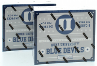 Lot of (2) 2015 Panini Duke Blue Devils Multi-Sport Pack of (24) at PristineAuction.com