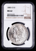 1885-O Morgan Silver Dollar (NGC MS62) at PristineAuction.com