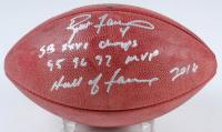 "Brett Favre Signed Official NFL ""The Duke"" Game Ball Football With Multiple Inscriptions (Radtke COA) at PristineAuction.com"