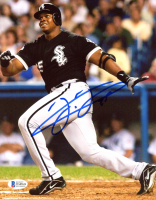Frank Thomas Signed White Sox 8x10 Photo (Beckett COA) at PristineAuction.com