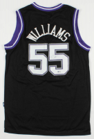 Jason Williams Signed Kings Jersey (Beckett COA) at PristineAuction.com