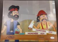 "Cheech Marin & Tommy Chong Signed ""Cheech & Chong's Animated Movie"" 11x14 Photo (JSA COA) at PristineAuction.com"