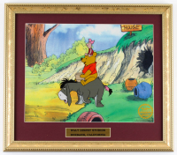 "Walt Disney's LE ""Winnie the Pooh"" 14.5x16.5 Custom Framed Two-Piece Animation Serigraph Display at PristineAuction.com"