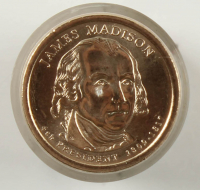 Ballistic Roll of (50) Never Circulated 2007-D James Madison Presidential Dollars at PristineAuction.com