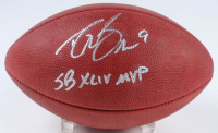 "Drew Brees Signed Official ""The Duke"" Super Bowl XLIV Edition NFL Game Ball (Radtke COA & Brees Hologram) at PristineAuction.com"