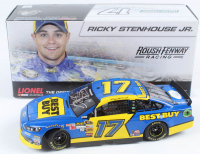 Ricky Stenhouse Jr. Signed LE #17 Best Buy 2013 Ford Fusion 1:24 Diecast Car (JSA COA) at PristineAuction.com