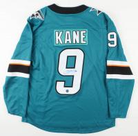 Evander Kane Signed Sharks Jersey (AJ's Sports World COA) at PristineAuction.com