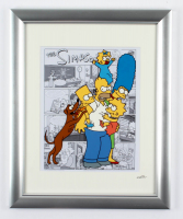 """The Simpsons"" 13x16 Custom Framed Hand-Painted Animation Serigraph Display at PristineAuction.com"