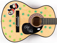 "Cheech & Chong Signed 38"" Acoustic Guitar (JSA COA) at PristineAuction.com"