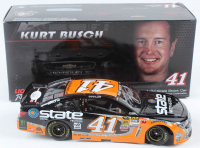 Kurt Busch Signed LE #41 State Water Heaters 2014 Chevy SS 1:24 Diecast Car (JSA COA) at PristineAuction.com