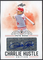 Pete Rose 2020 Leaf Charlie Hustle Certified Autograph Card #AU04 at PristineAuction.com