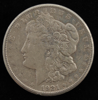 1921-S Morgan Silver Dollar at PristineAuction.com
