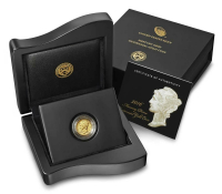 2016-W Mercury Dime 1/10 o=Oz. 24Kt .999 Gold Centennial Gold Coin at PristineAuction.com