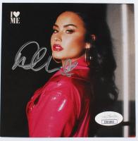 Demi Lovato Signed 4.5x4.5 CD Album Sleeve (JSA COA) at PristineAuction.com