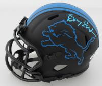 Barry Sanders Signed Lions Eclipse Alternate Speed Mini-Helmet (Schwartz COA) at PristineAuction.com