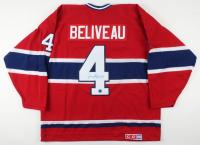 Jean Beliveau Signed Canadiens Captain Jersey (AJ's Sports World COA) at PristineAuction.com