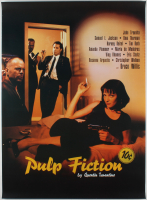 """""""Pulp Fiction"""" 27x38 International Teaser Movie Poster at PristineAuction.com"""