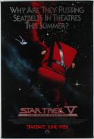 """Star Trek V: The Final Frontier"" 27x40 Teaser Movie Poster at PristineAuction.com"