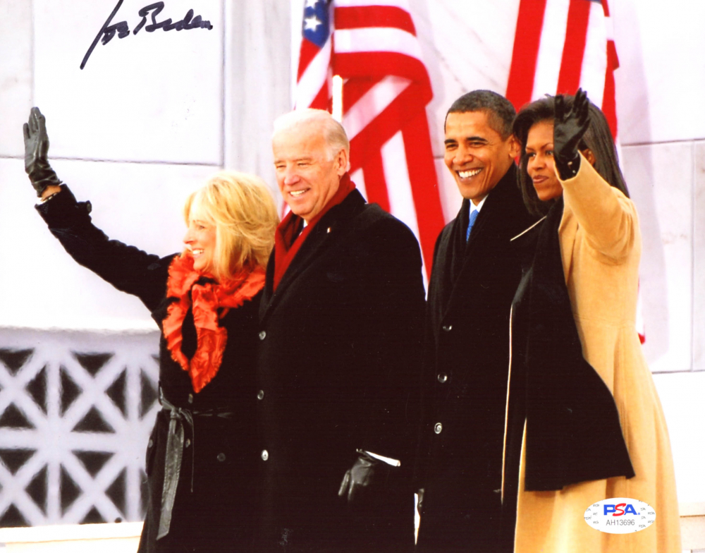 Joe Biden Signed 8x10 Photo (PSA Hologram) at PristineAuction.com