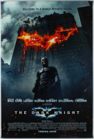 """""""The Dark Knight"""" 27x40 Teaser Movie Poster at PristineAuction.com"""