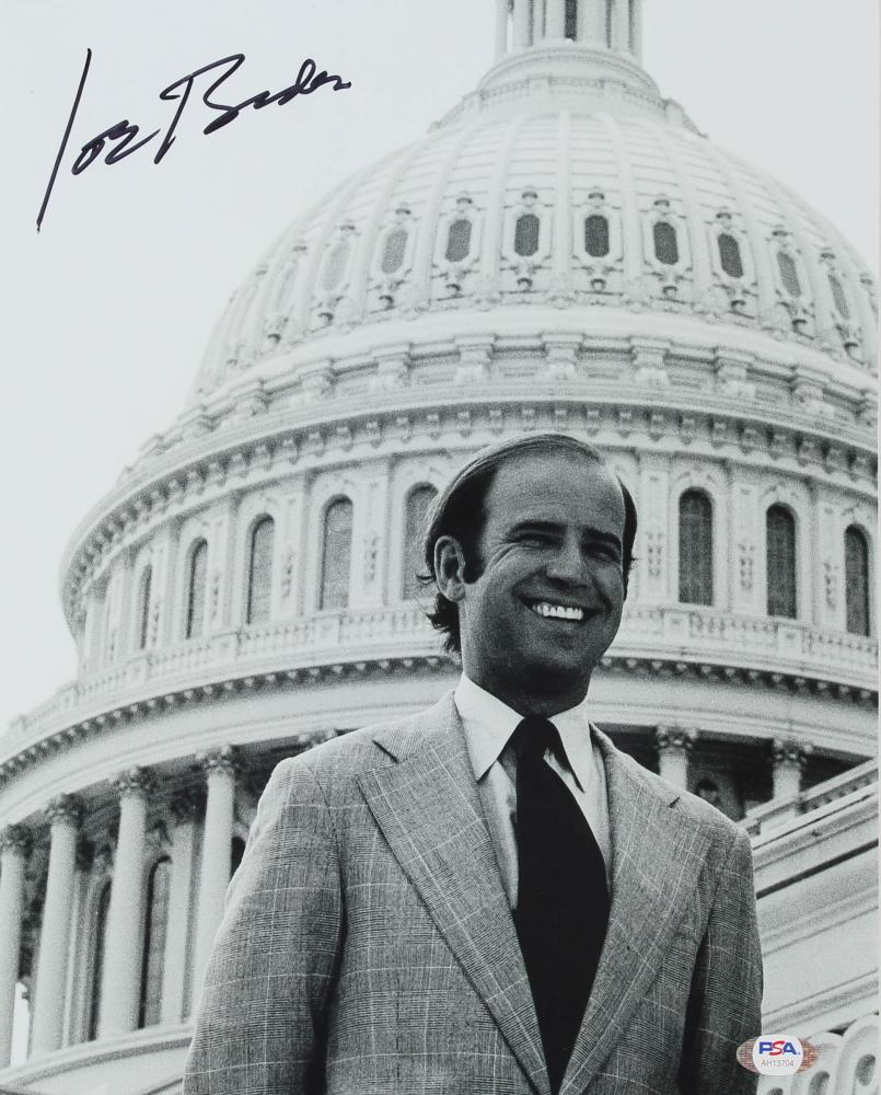 Joe Biden Signed 11x14 Photo (PSA Hologram) at PristineAuction.com